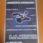 Plakat wideofilmowanie