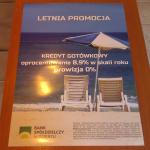 Plakat bank spółdzielczy